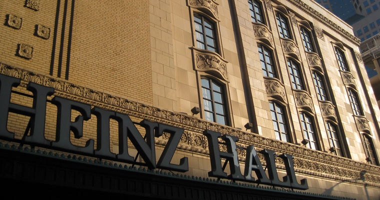 Heinz Hall to Participate in Doors Open Pittsburgh