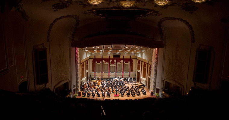 Scenes from the Pittsburgh Symphony's Production of St. John Passion