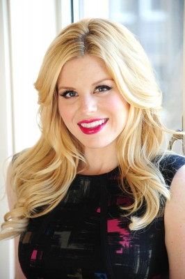 SMASH Star Megan Hilty At The Alison Brod PR Showroom