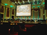 The Wizard of Oz Film with Orchestra