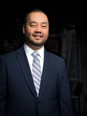 Resident Conductor Lawrence Loh