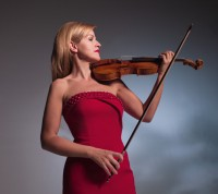 Anne-Sophie Mutter (photo courtesy of Tina Tahir/DG)