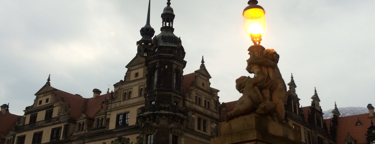 A Rainy Night in Dresden