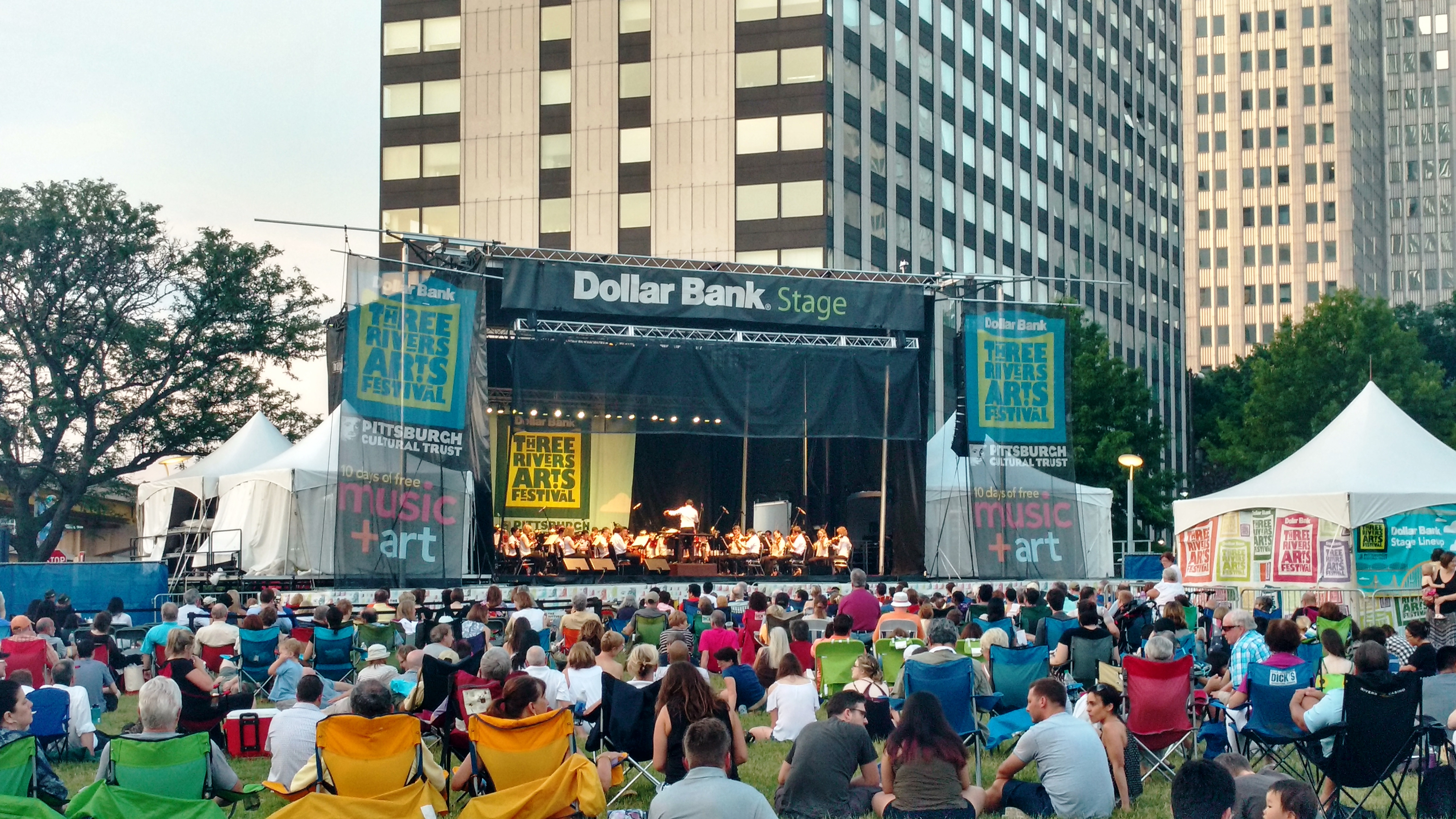 Concert Blog: The Night of the Dance: Pittsburgh Symphony Orchestra at the Three Rivers Arts Festival