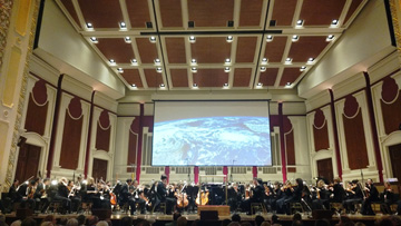 Concert Blog: Pittsburgh Symphony Orchestra Welcomes Summer with an HD Odyssey through Space