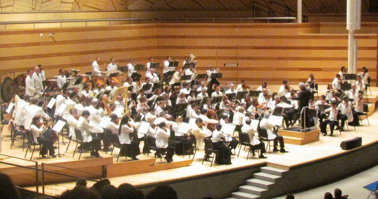 Photos from Aspen Music Festival and School Residency