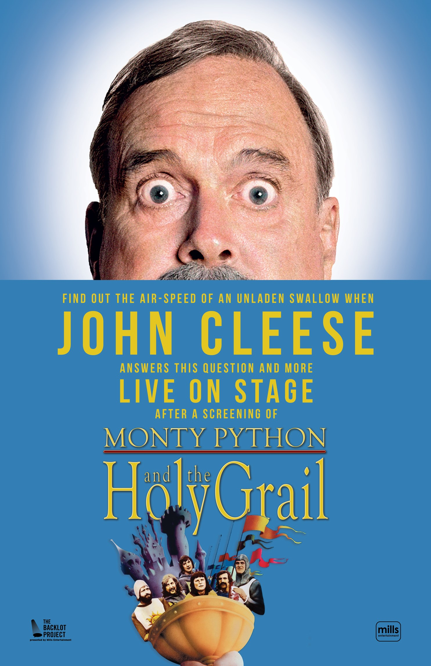 John Cleese: Live on Stage for Conversation and Q&A after a Screening of Monty Python and the Holy Grail